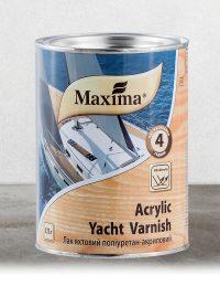 """Maxima """"ACRYLIC YACHT VARNISH"""" Vizes bázisú yacht lakk"""