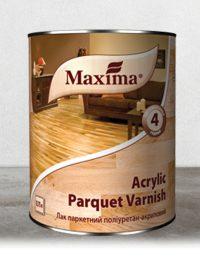 """Maxima """"ACRYLIC PARQUET VARNISH"""" Vizes bázisú parketta lakk"""