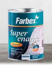 """Farbex """"SUPER ENAMEL PP-115"""" Magasfényű zománcfesték fémre, fára"""