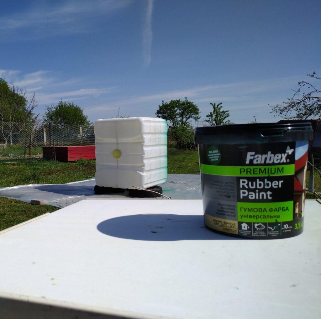 Egyedi kertszépítés Farbex univerzális elasztikus festékkel