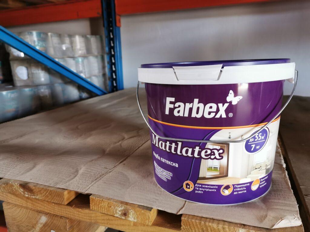 Farbex mattlatex festék